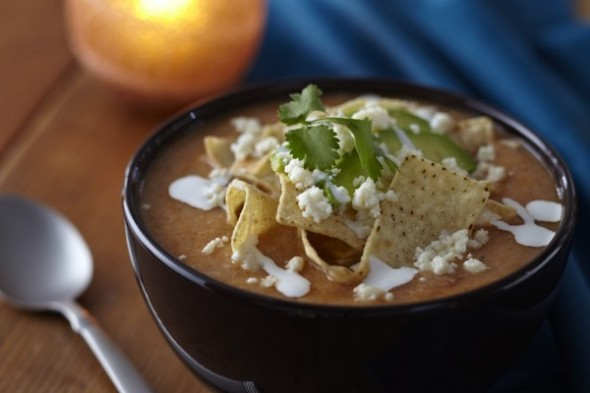 Cinco de Mayo special: Interview with Aaron Sanchez; his tortilla soup recipe