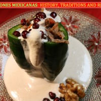 RECIPES FROM THE MISSION: Seasonal specialty: Chiles en Nogada