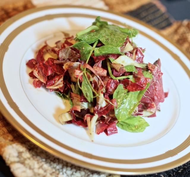 Farmer's Market Salad from gastronomicdiva.com