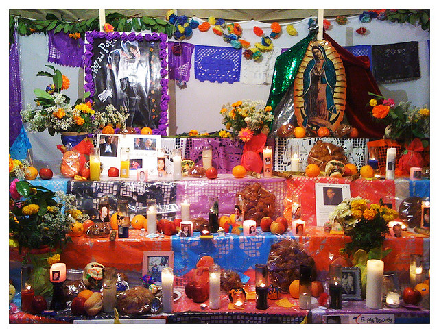 Altar in Mexico, photo by Carlos Martinez