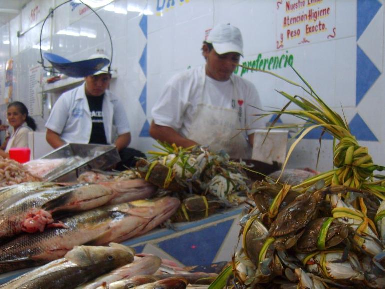 44 - Fish seller