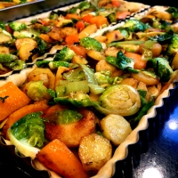 RECIPES FROM THE MISSION: Roasted Veggies with Salsa Macha