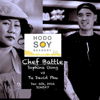 THINK YOU KNOW TOFU? Come to the Chef Battle: Chopped Grill Master Champ Sophina Uong vs Tu David Phu!